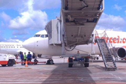 10 Pesawat Angkut 775 Penumpang ke Babel, Gugus Tugas Wajibkan Download Aplikasinya PeduliLindungi