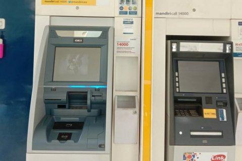 ATM Bank di Pangkalpinang Mulai Sediakan Hand Sanitizer/Cuci Tangan