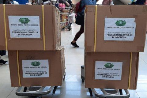 Rapid Test Bantuan Yayasan Buddha Tzu Chi Indonesia Didistribusikan ke Seluruh Dinas Kesehatan se-Babel