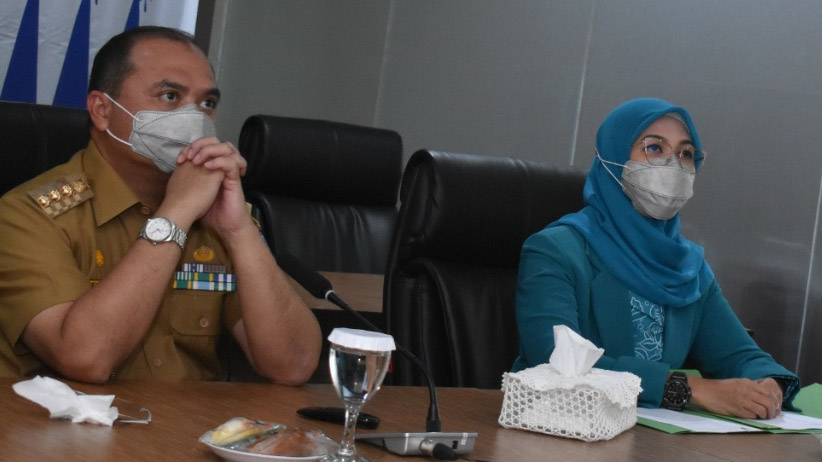 Ketua TP PKK Melati Erzaldi Minta Perempuan Tangguh Selamatkan Keluarga Dari Covid 19